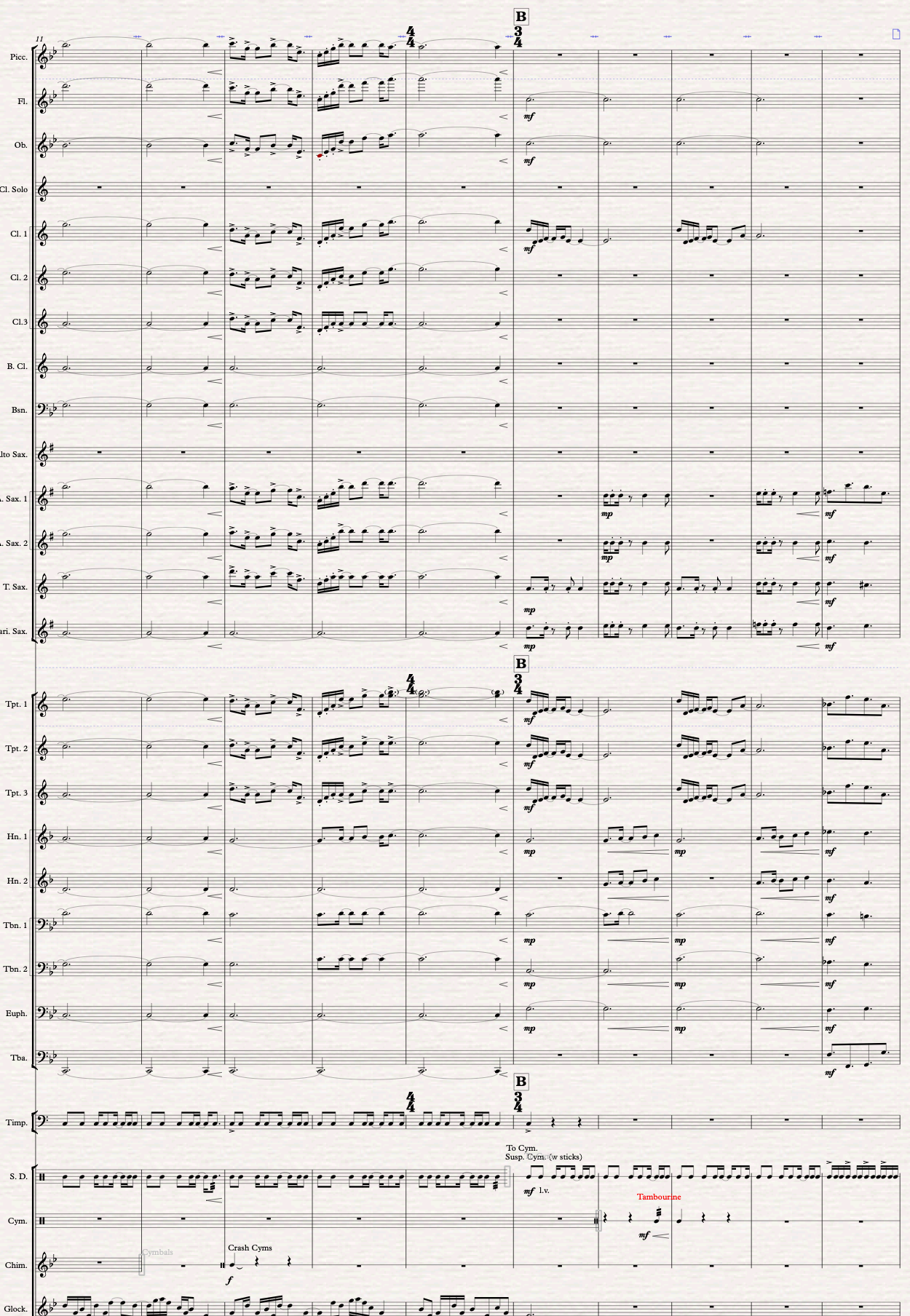 Pocket Fanfare for Wind Ensemble now available